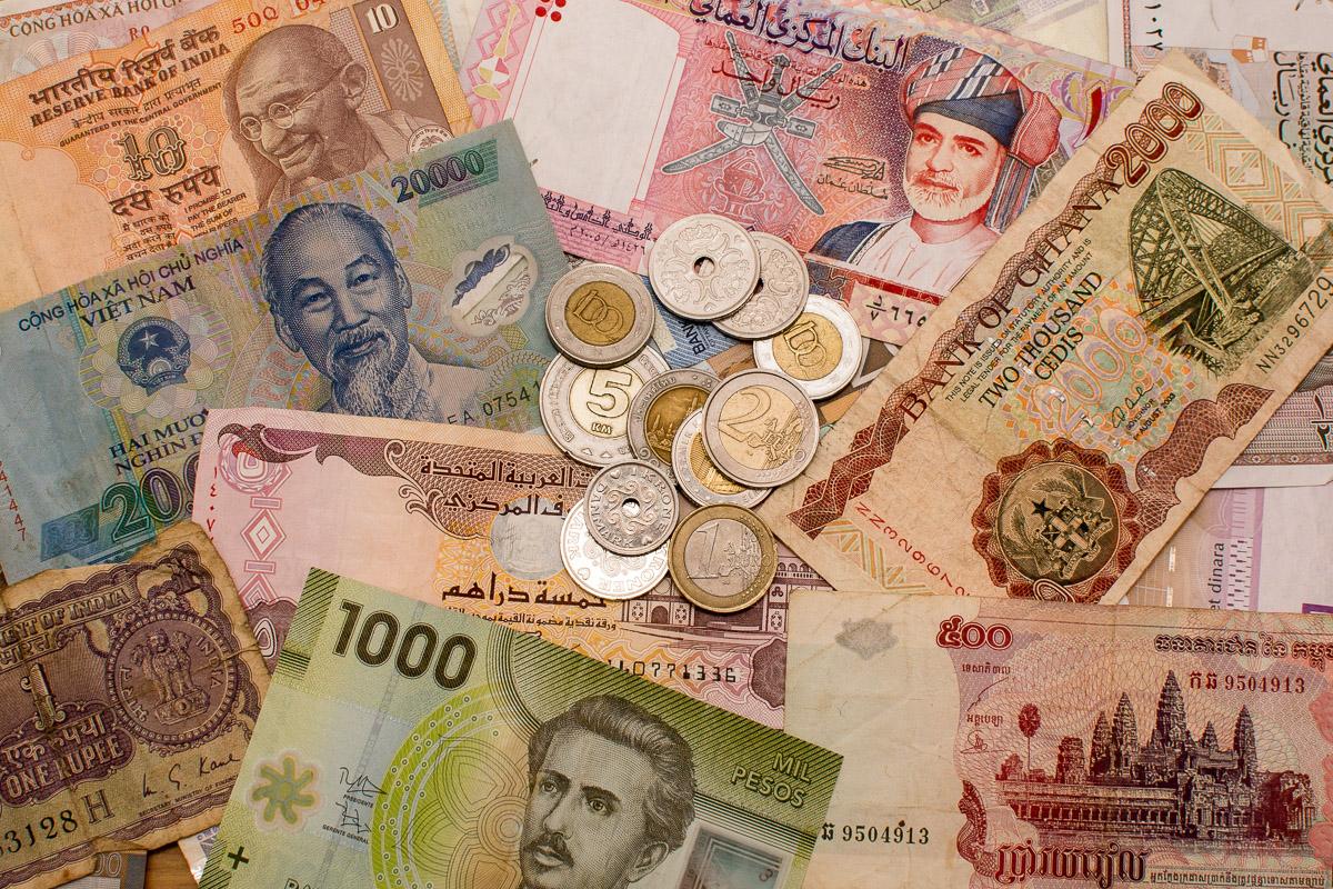 Pieniądze w podróży